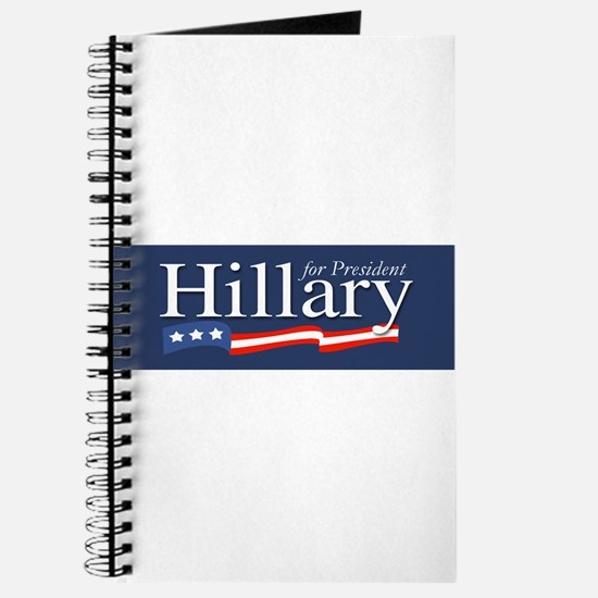 Hillary for President Poster Journal