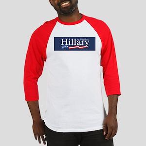 Hillary for President Poster Baseball Jersey