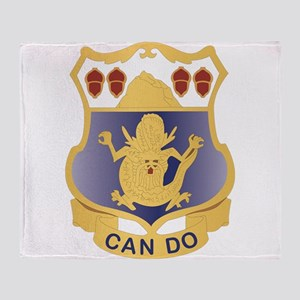DUI - 1st Battalion - 15th Infantry Regiment Throw