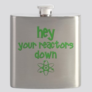 funny nuclear reactor Flask