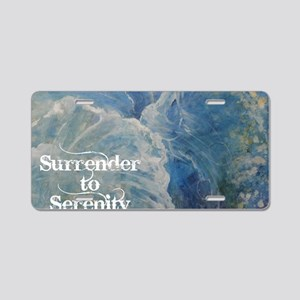 surrender2serenity2_poster Aluminum License Plate