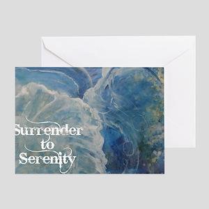 surrender2serenity2_poster Greeting Card