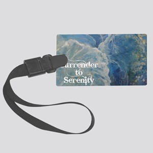 surrender2serenity2_poster Large Luggage Tag
