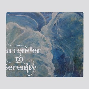surrender2serenity2_poster Throw Blanket