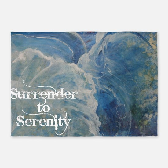surrender2serenity2_poster 5'x7'Area Rug