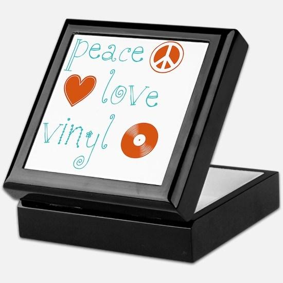 PeaceLoveVinyl Keepsake Box