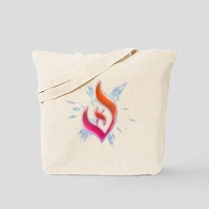 Deist Flame Starburst Tote Bag