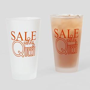 G_SALE_QUEEN Drinking Glass