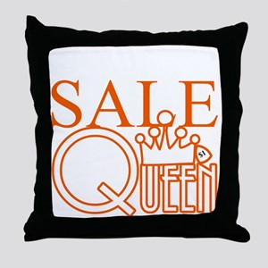 G_SALE_QUEEN Throw Pillow