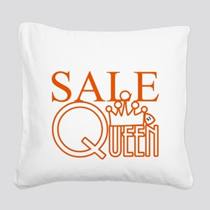 G_SALE_QUEEN Square Canvas Pillow