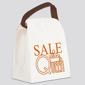G_SALE_QUEEN Canvas Lunch Bag