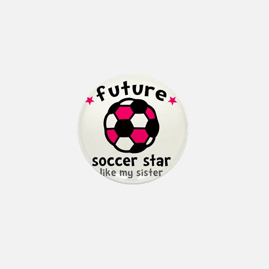 Soccer Sis Mini Button