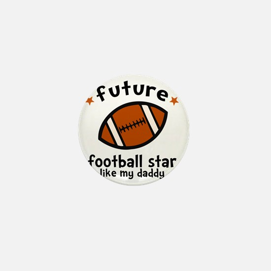 Football Dad Mini Button