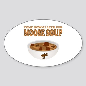 I love Moose Soup Sticker