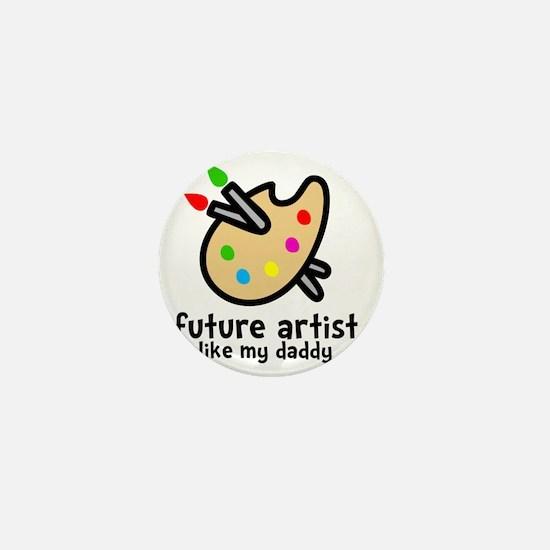 Artist Dad Mini Button