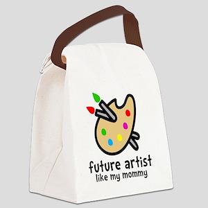 Artist Mom Canvas Lunch Bag