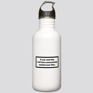 Wasting your time Water Bottle