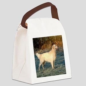 golden_standing Canvas Lunch Bag