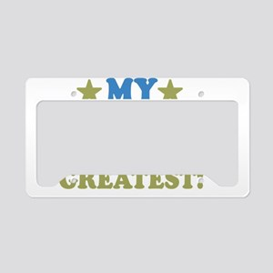 thinksgreatbrothers-01 License Plate Holder