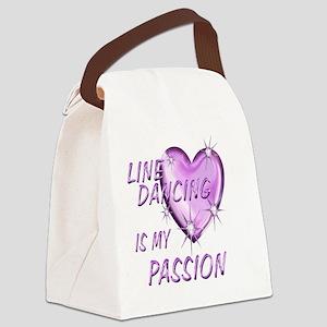 LINE Canvas Lunch Bag