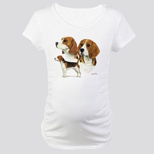 Beagle Multi Maternity T-Shirt