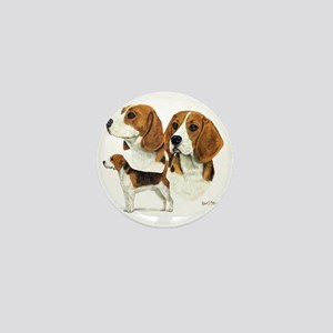 Beagle Multi Mini Button