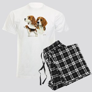 Beagle Multi Men's Light Pajamas