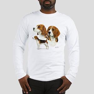 Beagle Multi Long Sleeve T-Shirt