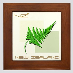 NEW ZEALAND Framed Tile