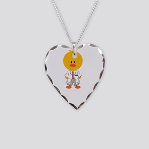 RegisteredDietitianChickDkT Necklace Heart Charm