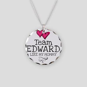 Lovez Edward Necklace Circle Charm