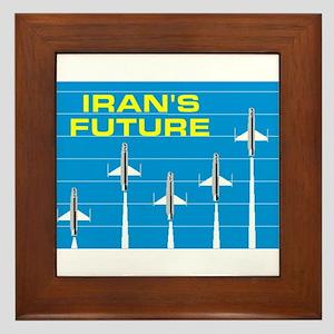 IRANIAN FUTURE Framed Tile