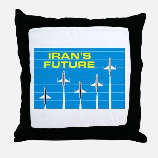 IRANIAN FUTURE Throw Pillow