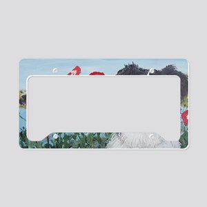 BorderPops4x6 License Plate Holder