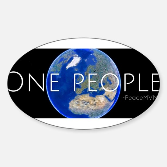 OnePeoplePeaceMVMTv2 Decal