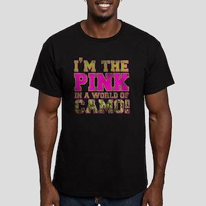 pink Men's Fitted T-Shirt (dark)