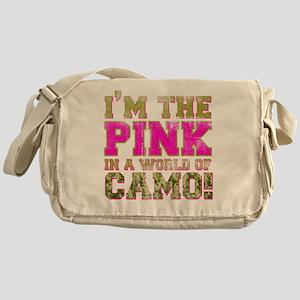 pink Messenger Bag