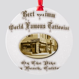 grimm Round Ornament
