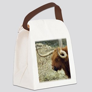Highland Cow 9R007D-009 Canvas Lunch Bag