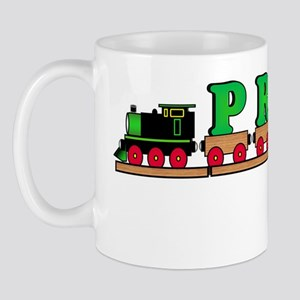 name train - PRICE dk Mug