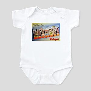 Detroit Michigan Greetings Infant Bodysuit