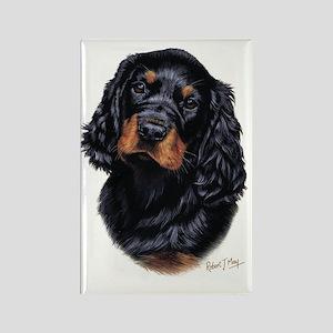 Gordon Pup Rectangle Magnet