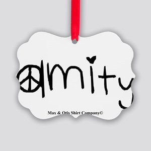 amity-divergent Picture Ornament