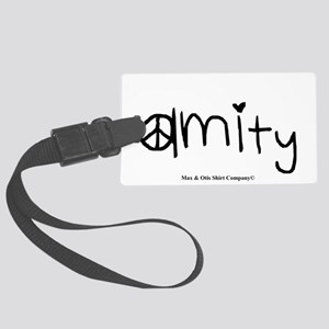 amity-divergent Large Luggage Tag