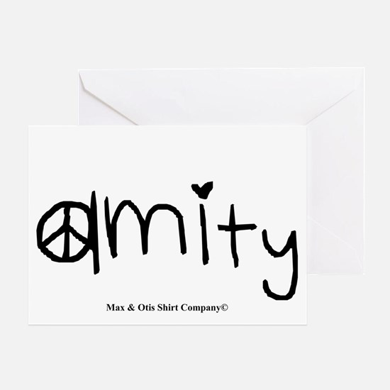 amity-divergent Greeting Card