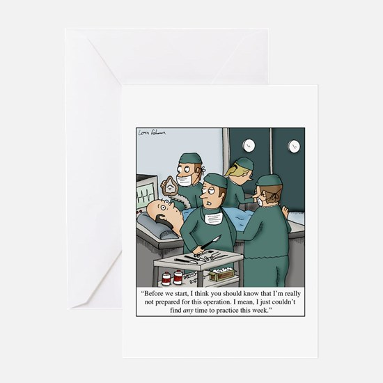 No time to practice. Greeting Cards