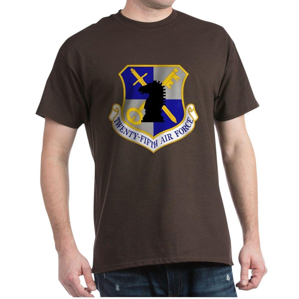 CafePress-USAF-Twenty-Fifth-Air-Force-Dark-T-Shirt-Cotton-T-Shirt-106123181 thumbnail 10