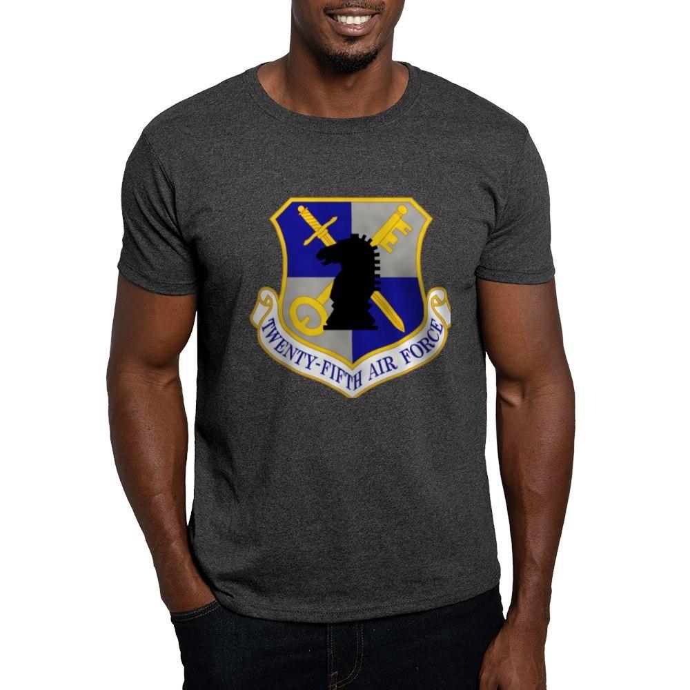 CafePress-USAF-Twenty-Fifth-Air-Force-Dark-T-Shirt-Cotton-T-Shirt-106123181 thumbnail 25