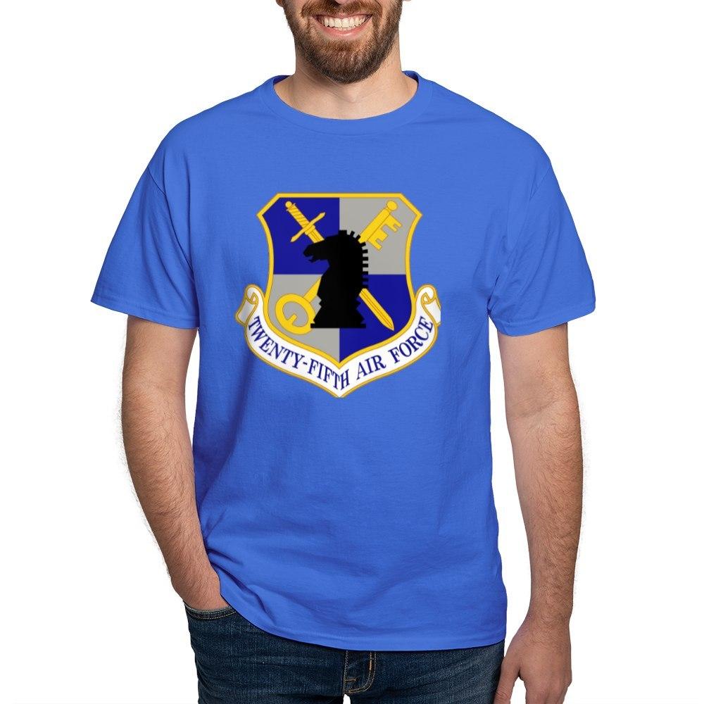 CafePress-USAF-Twenty-Fifth-Air-Force-Dark-T-Shirt-Cotton-T-Shirt-106123181 thumbnail 55