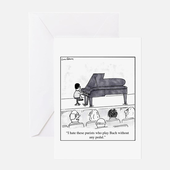 Cute Music lessons Greeting Card